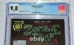 2014 Zombie Tramp 1 CGC 9.8 Action Lab Comics Dan Mendoza TMChu Cover
