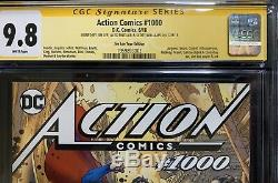 ACTION COMICS #1000 Jim Lee Variant CGC 9.8 SIGNED BY LEE, SINCLAIR, & WILLIAMS