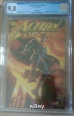 ACTION COMICS #1000 Superman Bermejo Gold Foil Convention VARIANT CGC 9.8 MINT