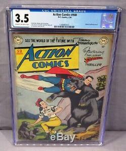 ACTION COMICS #140 (Golden Age Superman) CGC 3.5 VG- DC Comics 1950