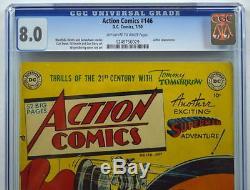 ACTION COMICS #146 CGC 8.0 Superman 1950 3rd Highest Graded Copy Lex Luthor app
