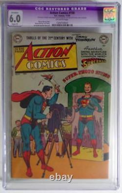 ACTION COMICS #150 CGC 6.0 SUPERMAN cover 1950