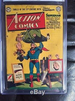 ACTION COMICS #151 CGC VG/FN 5.0 CM-OW scarce Luthor/Prankster/Mxyztplk