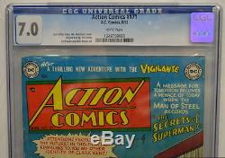 ACTION COMICS #171 CGC 7.0 Superman 1952 Highest Graded copy