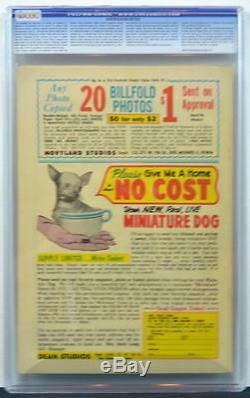 ACTION COMICS #217 CGC 8.0 Superman 1956 Super-Baby c & 2nd Highest Graded copy