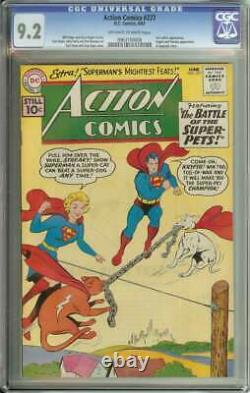 ACTION COMICS #277 CGC 9.2 OWithWH PAGES