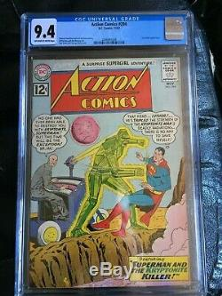 ACTION COMICS #294 CGC NM 9.4 OW-W Curt Swan Luthor cover