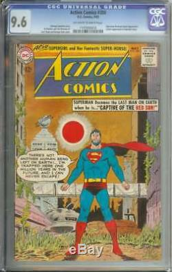 ACTION COMICS #300 CGC 9.6 OWithWH PAGES