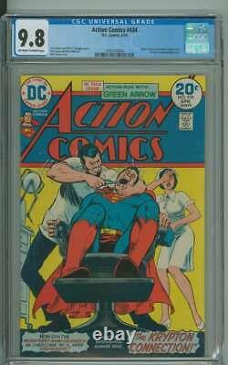 ACTION COMICS #434 CGC 9.8 OWithWH PAGES