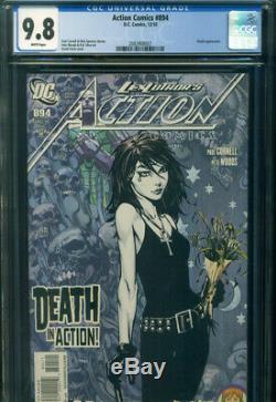 ACTION COMICS #894 CGC 9.8 NM/MT WP DC Comics 1st Modern DEATH in DCU Sandman