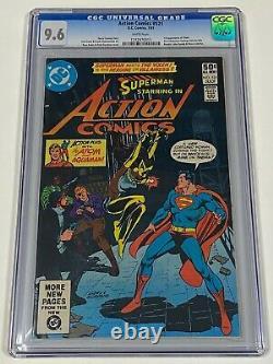 ACTION COMICS SUPERMAN #521 CGC 9.6 DC 7/81 1st appearance of VIXEN