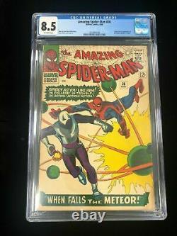 AMAZING SPIDER-MAN #36 Marvel Comics 1966 CGC 8.5 Origin Looter DITKO STAN LEE