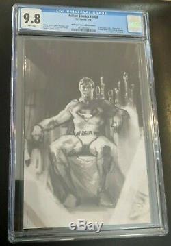 Action Comics 1000 CGC 9.8 Bulletproof Comics Sketch Edition Del'Otto Cover