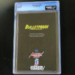 Action Comics #1000 CGC 9.8 Bulletproof Sketch Dell'Otto Virgin DC Superman