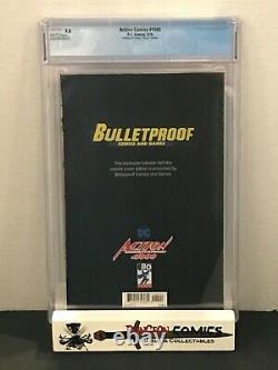 Action Comics #1000 CGC 9.8 Dell'Otto Virgin Variant Superman Bulletproof Comics