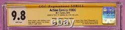 Action Comics #1000 CGC 9.8 SS Dell'Otto Bulletproof Comics Virgin 9/50