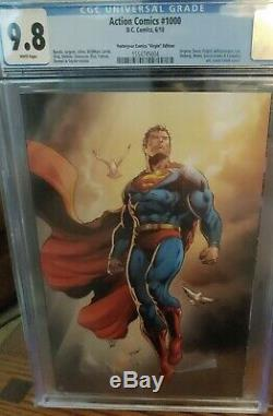Action Comics #1000 CGC 9.8 Yesteryear Comics Virgin Variant Superman