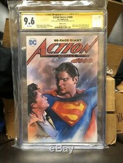 Action Comics 1000 CGC SS 9.6 (not 9.8) Sketch Felipe Massafera