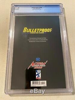 Action Comics #1000 Cgc 9.8 Gabrielle Dell'otto Virgin Variant Cover