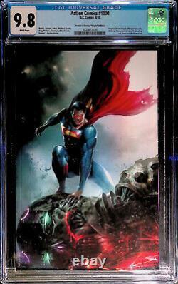 Action Comics #1000 Frankie's Comics Edition Mattina Virgin Cover CGC 9.8