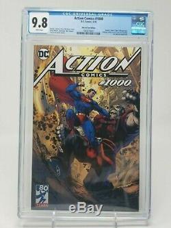 Action Comics #1000 Jim Lee Tour Variant CGC 9.8 NM+ MT 1st Rogol Zaar DC