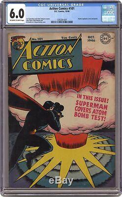 Action Comics #101 CGC 6.0 1946 1293301001