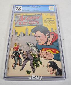 Action Comics 114 DC 1947 CGC 7.0 Superman