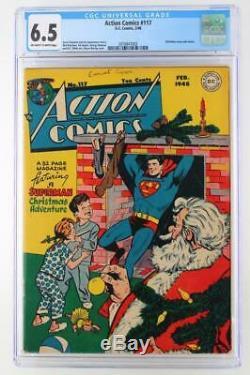 Action Comics #117 CGC 6.5 FN+ DC 1948 Superman Christmas Story