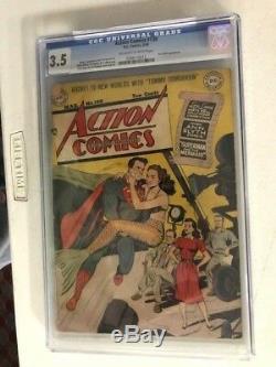 Action Comics #130 CGC 3.5 Superman Ann Blyth Appearance Golden Age
