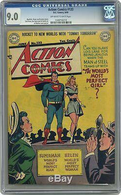 Action Comics #133 CGC 9.0 1949 1249756019