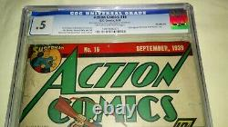 Action Comics #16 1st Series Golden Age