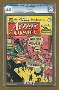Action Comics #186 CGC 5.0 1953 1158103006