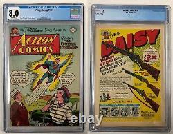 Action Comics #188 1/54 DC Cgc 8.0 Vf Off-white Wood Sherman Boring Superman