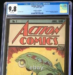 Action Comics #1 (1976) CGC 9.8 Safeguard Promotional Reprint! Superman DC