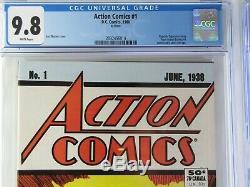 Action Comics 1 & Amazing SpiderMan 1 CGC 9.8 (X-Men 1 1963 Auction Coming Soon)