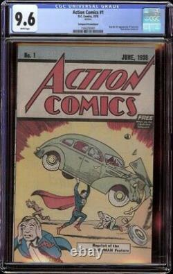 Action Comics # 1 CGC 9.6 (DC, 1976) Reprint Safeguard Promotional Edition
