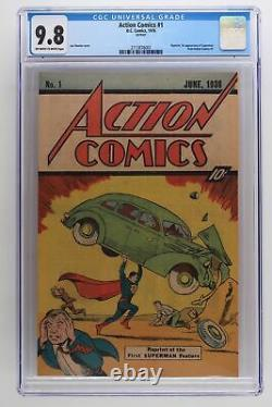 Action Comics #1 DC 1976 CGC 9.8 Reprint 1st App of Superman from Action #1