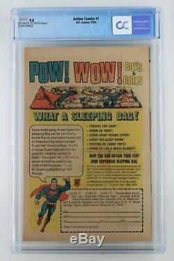 Action Comics #1 DC 1976 CGC 9.8 Reprints 1st Appearance of Superman