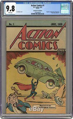 Action Comics #1 Reprints #1.1976. FREE CGC 9.8 1620034016