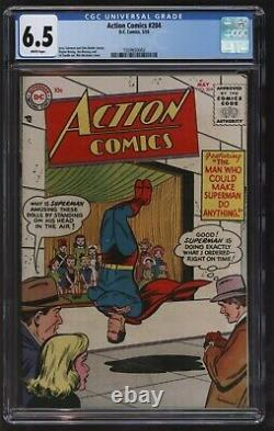 Action Comics 204 CGC FN plus Rare Only Twenty Known Copies