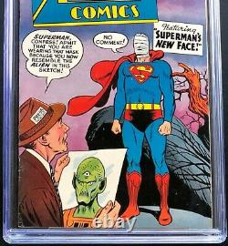 Action Comics #239 CGC 7.5 Ad for Challengers of the Unknown 1 Superman DC