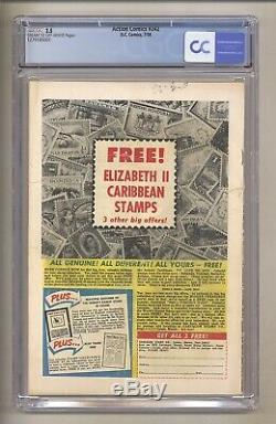 Action Comics 242 (CGC 2.5) C/OW Pages 1st app Brainiac! 1958 DC Comics (j 125)