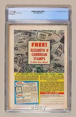 Action Comics #242 CGC 4.0 1958 1571238005 1st app. And origin Braniac, Kandor