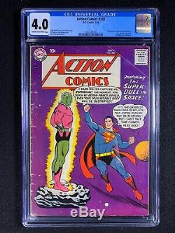 Action Comics #242 CGC 4.0 (1958) 1st app of Braniac HOT & PRICED TO SELL