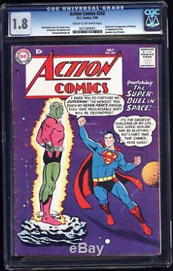 Action Comics # 242 Cgc