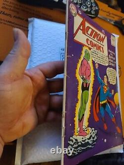 Action Comics 242 First Brianiac Looks Nice Cgc Gradeable Superman DC Silver Age