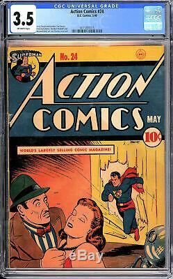Action Comics #24 CGC 3.5