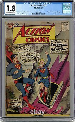 Action Comics #252 CGC 1.8 1959 1362251001 1st app. Supergirl