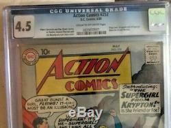 Action Comics #252 cgc 4.5