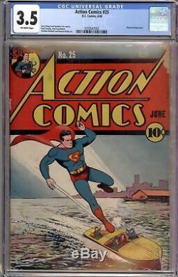 Action Comics # 25 Cgc